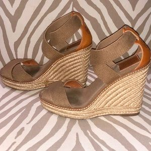 Tory Burch Adonis Espadrille Wedges